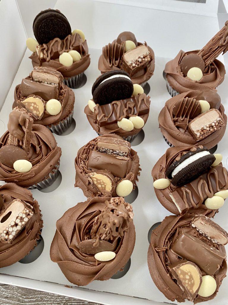 Chocolate delight cupcakes