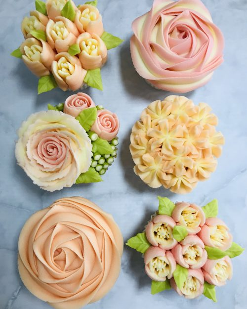 Kerry's Bouqcakes | Beginners Buttercream Flowers Course